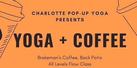Yoga + Coffee tickets