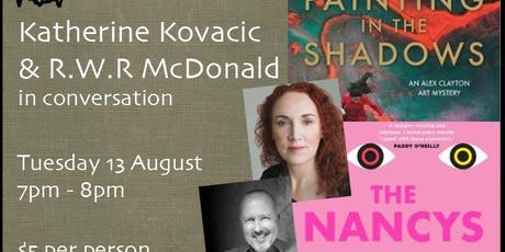 Katherine Kovacic & R.W.R. McDonald in conversation tickets