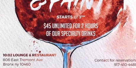Unlimited Sip and Paint  tickets