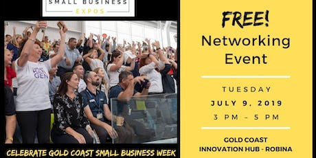 FREE Networking - Small Business Expo - Shindig for GC Small Business Week tickets