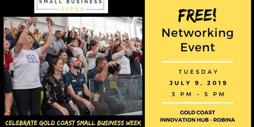 FREE Networking - Small Business Expo - Shindig for GC Small Business Week