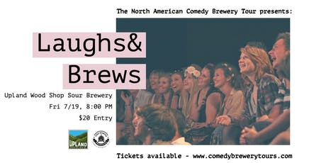 The North American Comedy Brewery Tour at Upland Wood Shop Sour Brewery tickets