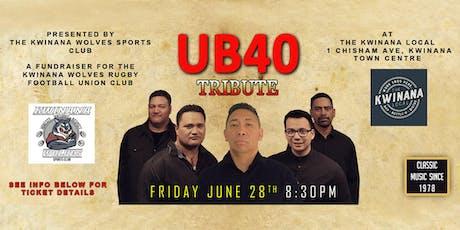 UB40 Tribute - KWINANA tickets