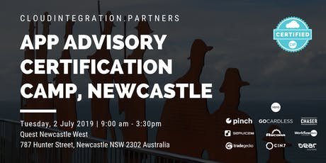 Newcastle CI Partners 2019 Intro to App Advisory Certification Camp tickets