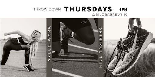 Throwdown Thursdays at Biloba Brewing Co.