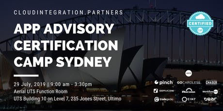 Sydney CI Partners 2019 Intro to App Advisory Certification Camp tickets