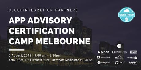 Melbourne CI Partners 2019 Intro to App Advisory Certification Camp tickets