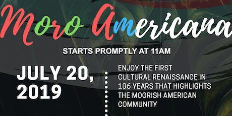 Moro Americana tickets