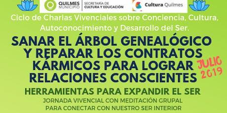 Quilmes Ciclo de Charlas sobre Conciencia y Desarrollo del Ser (Julio 2019) entradas