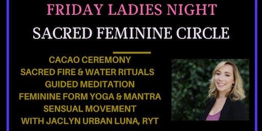 "Sacred Feminine Circle ""Ladies Night"" with Jaclyn Urban Luna"