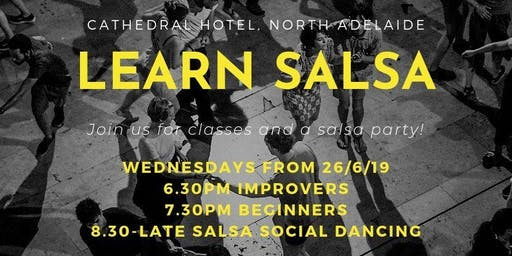 Learn Salsa in North Adelaide