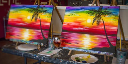 Paint & Sipping with fun party!!!!