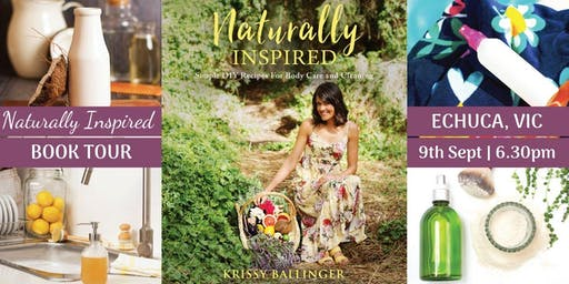 Naturally Inspired Author Talk – Echuca, VIC
