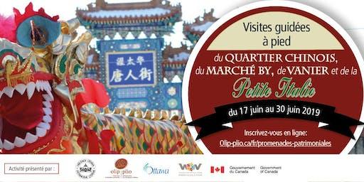Tournée pédestre du patrimoine immigrant : Chinatown (français)/ Immigrant Heritage Walking Tour: Chinatown (French)