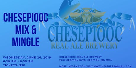 Chesepiooc Mix & Mingle with Delegate Heather Bagnall tickets