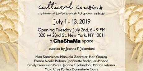 Cultural Cousins: a show of Latinx and Filipinx artists tickets