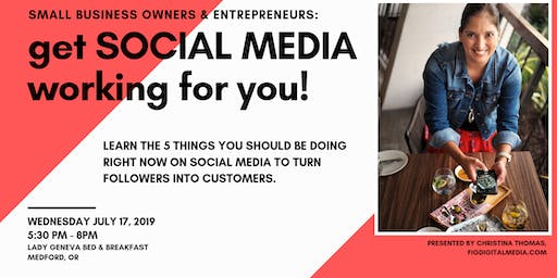 Get Social Media Working For You