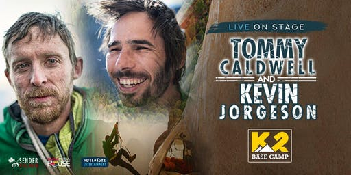 Tommy Caldwell and Kevin Jorgeson AUS Tou r- K2 Base Camp Meet & Greet