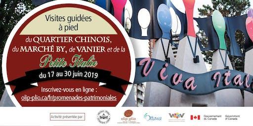 Tournée pédestre du patrimoine immigrant : La Petite Italie (français)/ Immigrant Heritage Walking Tour: Little Italy (French)