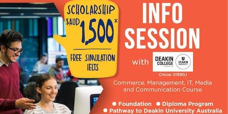 Info Session dengan Deakin College Jakarta Campus (Free Event) tickets