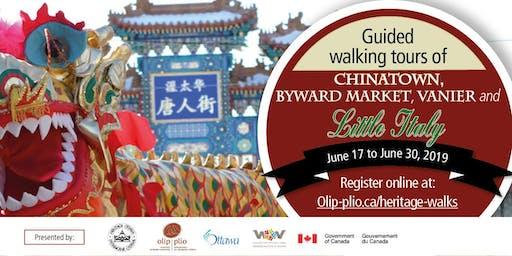 Immigrant Heritage Walking Tour: Chinatown(English) / Tournée pédestre du patrimoine immigrant : Chinatown (anglais)