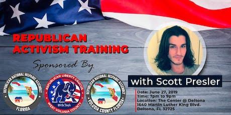 Republican Activism Training with Scott Presler Central Florida tickets