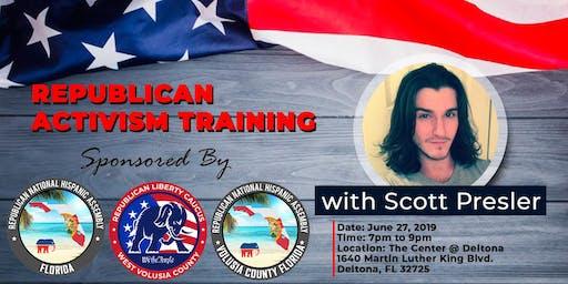 Republican Activism Training with Scott Presler Central Florida