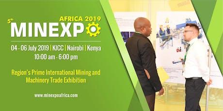 05th Minexpo Kenya 2019 tickets