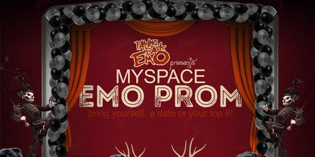 Myspace Emo Prom with Taking Back Emo tickets
