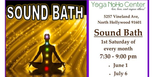 Sound Bath with music therapist Monique Hitzman