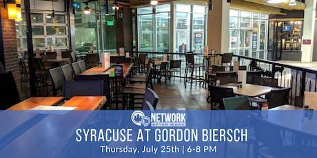 Network After Work Syracuse at Gordon Biersch tickets