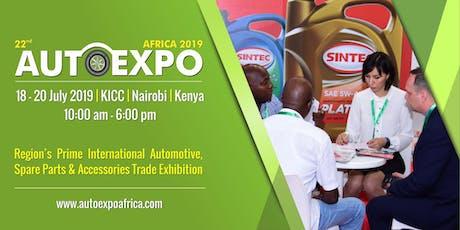 22nd Autoexpo Kenya 2019 tickets