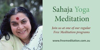 Free Meditation - Sahaja Yoga @ Perth City Library