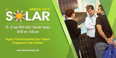 6th Solar Kenya 2019 tickets