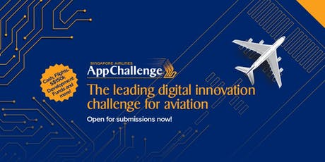 Singapore Airlines AppChallenge 2019 tickets