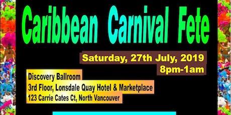 Caribbean Carnival Fete tickets