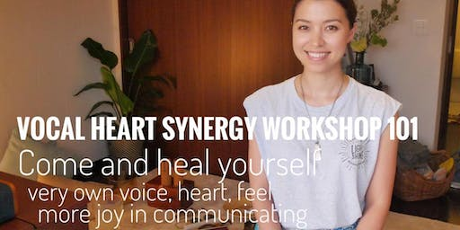 Vocal Heart Synergy Workshop 101: release your voice fluidly