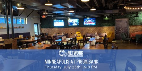 Network After Work Minneapolis at Piggy Bank tickets