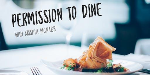 Permission To Dine With Krishla McNabb