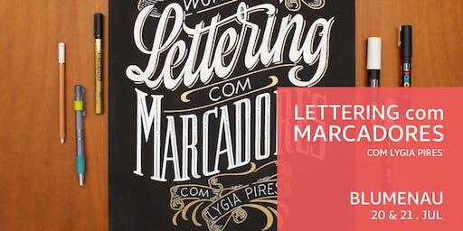 Lettering com Marcadores  - Blumenau