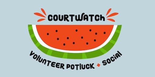 Court Watch Volunteer Potluck