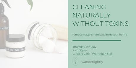 Cleaning Naturally without Toxins tickets