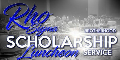 Rho Sigma Chapter Second Annual Scholarship Luncheon tickets