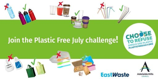 Find out how to go Plastic Free in July!