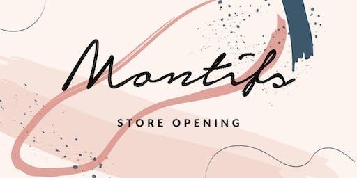 Montifs Store Opening Event @ Funan Mall