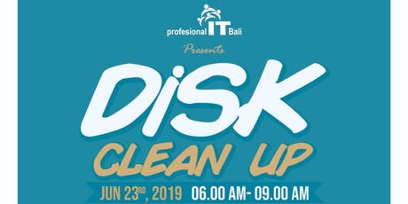 ITBali DiSK Cleanup 2019 tickets