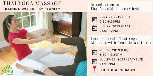 Thai Yoga Massage Training with Debby Stanley