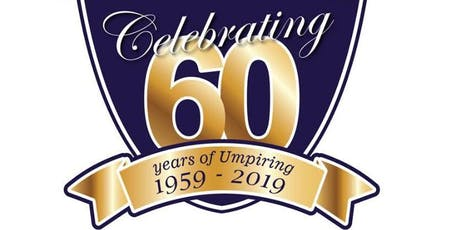 Celebrating 60 Years of Umpiring SUA tickets