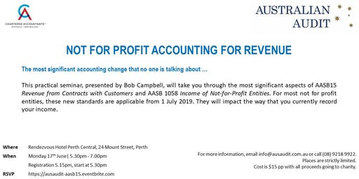 Not For Profit Accounting for Revenue