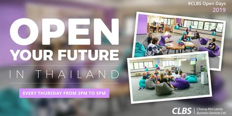 CLBS OPEN DAY tickets
